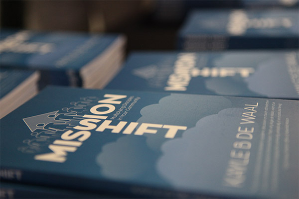 Mission Shift books at launch
