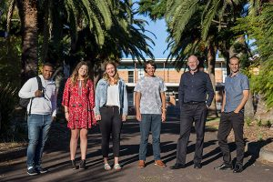 Community service project winners