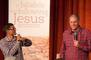 Of Falafels and Following Jesus launch