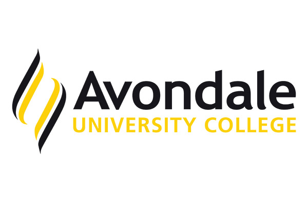 Avondale University College logo.