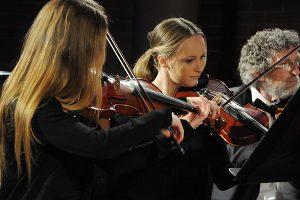 Avondale Conservatorium violinist