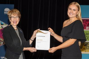Olivia Matheson Duke of Edinburgh Award